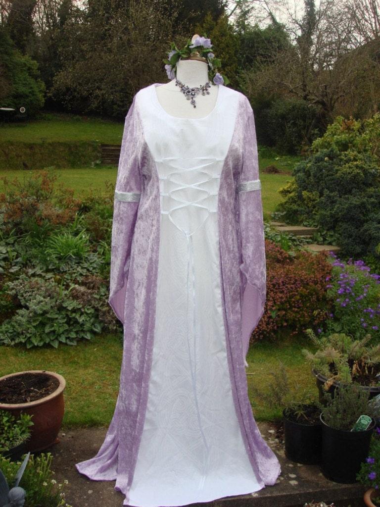 Lilac Elven Arwen Lotr Renaissance Medieval Pagan Celtic