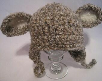 Little Lamb Baby Hat