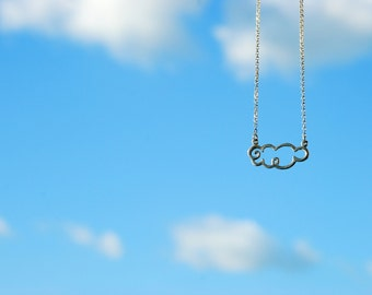 Fat Cloud Sterling Silver Necklace
