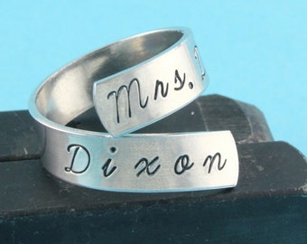 Mrs. Daryl Dixon Ring - Adjustable Ring - Silver Ring - Wrap Ring - Twist Ring - Best Friend Gift - Zombie Ring - Size 7 Ring - Size 8 Ring