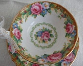 Vintage Paragon Pink Roses English Floral Teacup