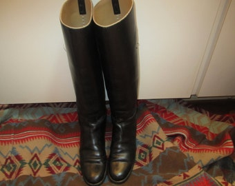 Authentic Vintage English Riding Boots size 6 B Made In England