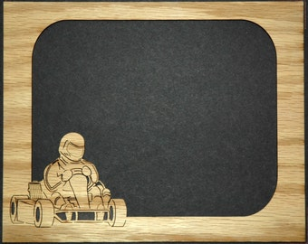 Go Kart Picture Frame Insert Matte 8x10