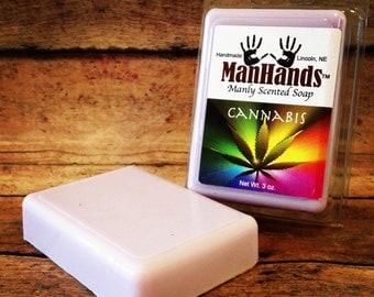 Cannabis Scented Soap 3 oz. Bar