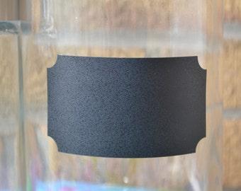 SMALL Rectangle - 24 - Chalk Board Label - Vinyl, pantry labels, kitchen labels, canister labels, mason jar labels