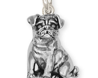 Pug Dog Charm Jewelry  CD05-C