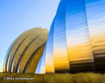 "Kauffman Center 3 - Kauffman Center for the Performing Arts, Kansas City, MO - Photograph - 8"" x 10"" matted to 11"" x 14"""