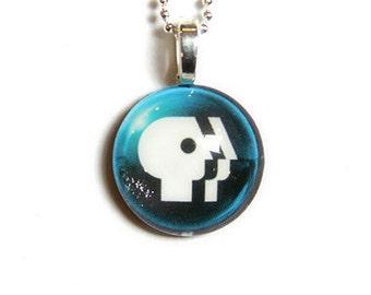 PBS Logo Necklace