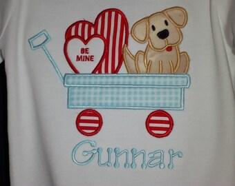Valentine's Boy Shirt Personalized Boys Valentinte's Shirt- Girls Valentine's Shirt