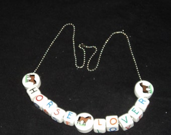 Horse Lover's Necklace