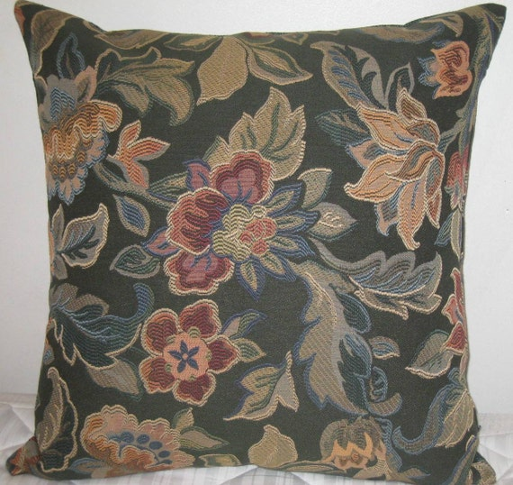 Items similar to Chenille floral pattern decorative 24