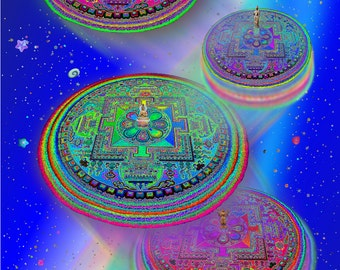 Teleport Mandala, Meditation A