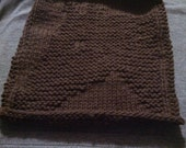 Knitted Horse Dishcloth