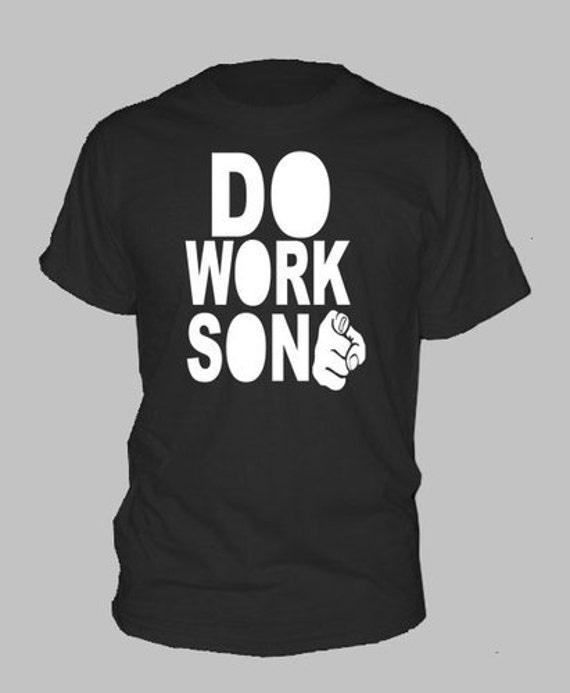 Black Work T Shirts