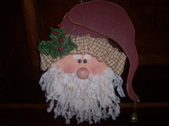Items Similar To Santa Clause Wood Craft Pattern For