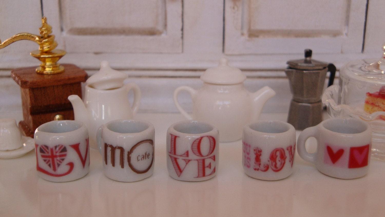 Saint Valentine Dollhouse Coffee Mug