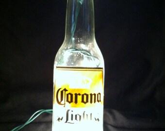 Corona decorative bottle