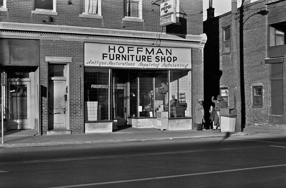 Hoffman Furniture Shop On West Main Street In Charlottesville