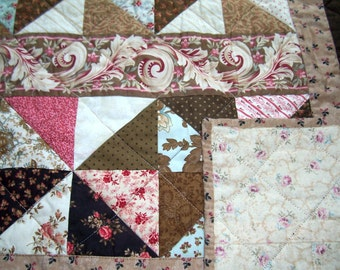 Scrappy Chocolate Quilt