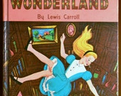 Whitman Classic Alice in Wonderland by Lewis Carroll 1955