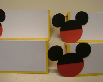 Mickey Mouse Food/Name Cards