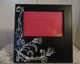 Scottish Thistle Picture Frame