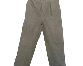 Boys linen natural pants linen pants for weddings  beach wedding destination wedding infant toddler big boys linen pants  #3417