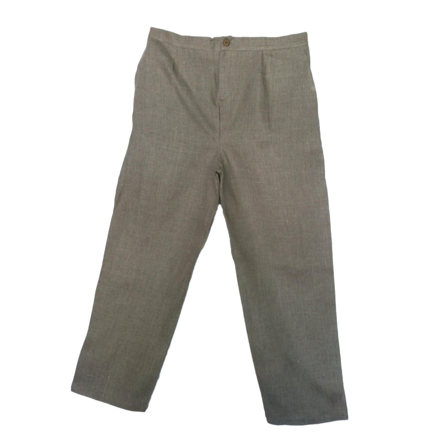 Little Boys Dress Pants. Cotton/Linen blend. Navy blue in color. Slide and zip front. In excellent condition with no holes or stains.