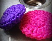 Tulle Dish Scrubbies, Set of 3
