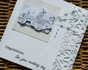 Wedding Congratulations Handmade Card