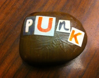 Punk Rock Fridge Magnet