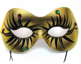 Glitter Eye Women's Masquerade Mask - A-0670GM-E