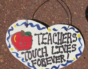 Teacher Gifts 800TTLF Teachers Touch Lives Forever