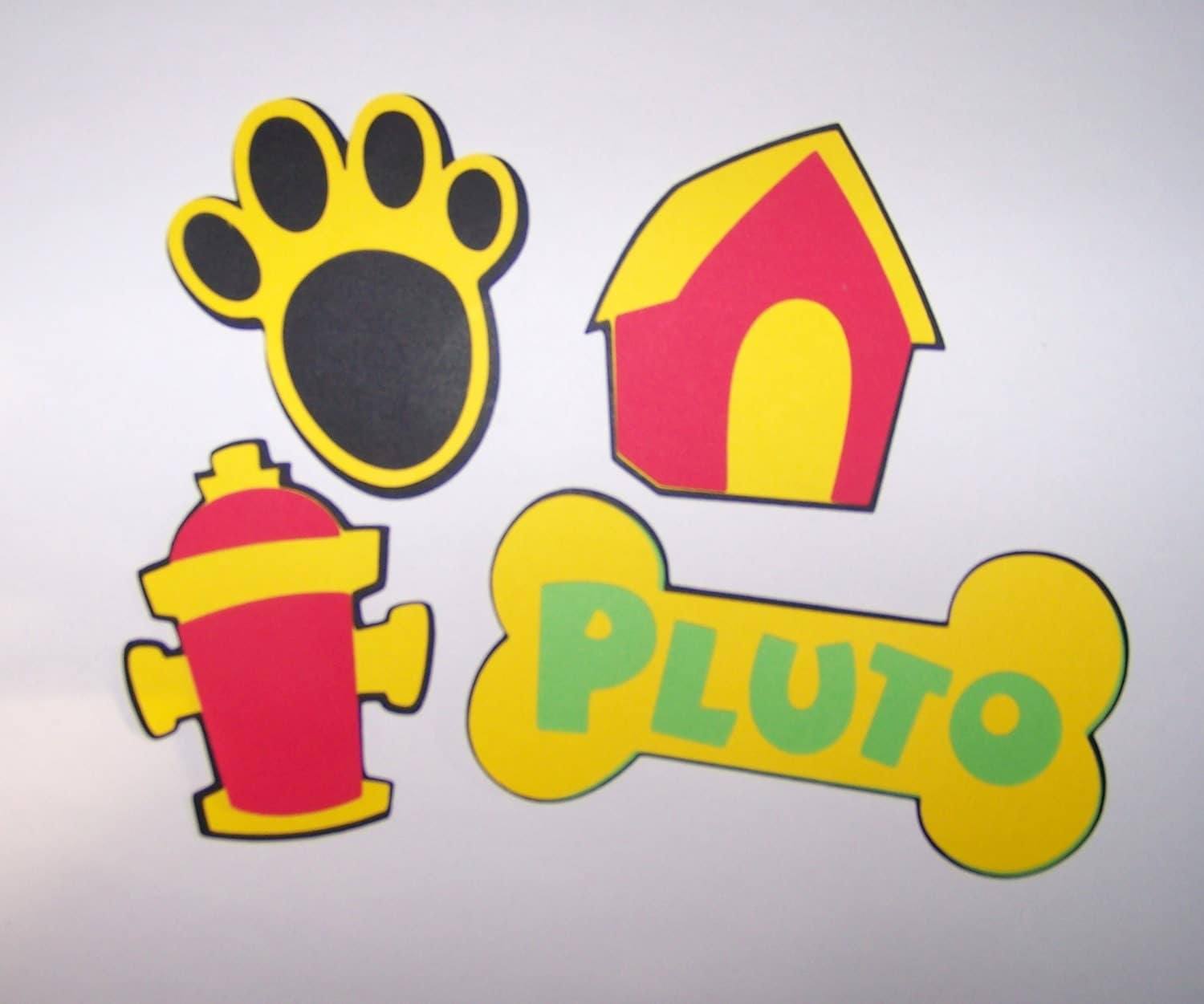 16 Pluto Die Cut Shapes 3 Inches From Snidesignsnsupplies