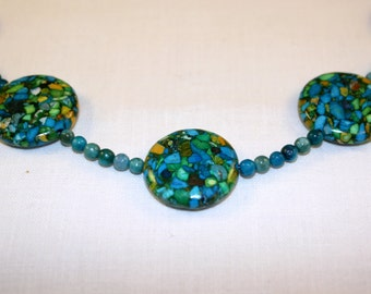 Private Island beaded necklace