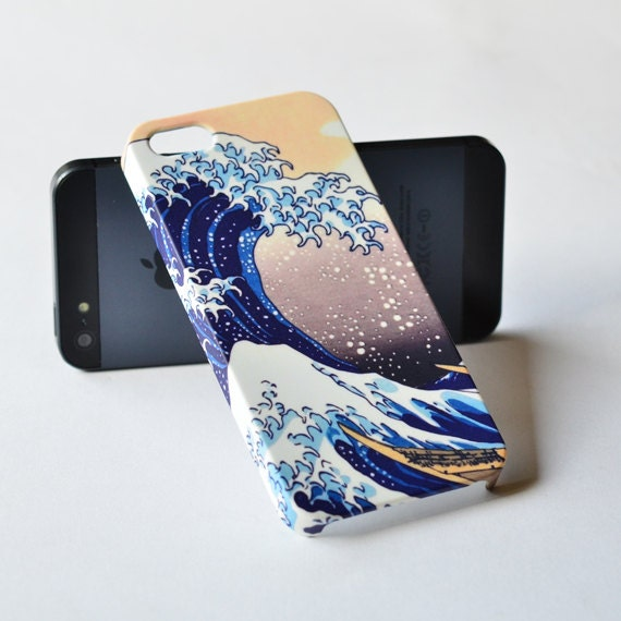 Items similar to iPhone 5 Case - Hokusai Great Wave