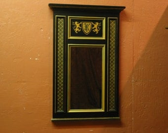 Black Decorative Mirror