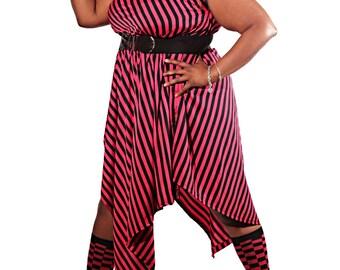 Magnetic Stripes Dress
