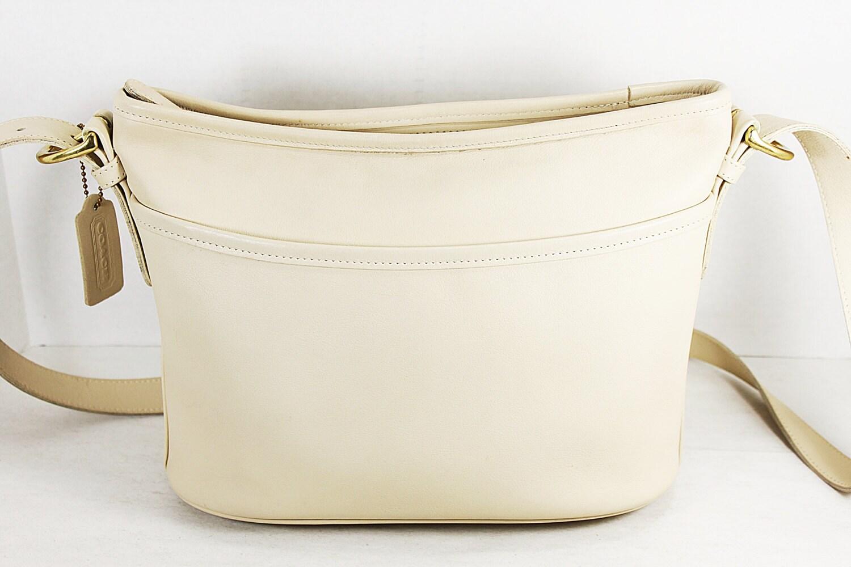 Coach Cream Shoulder Bag 80