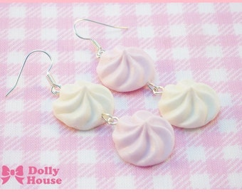 Pastel Marshmallows Earrings by Dolly House