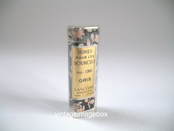 Vintage Lancome eyebrow pencil refills, collectable make up cosmetic, 1960s
