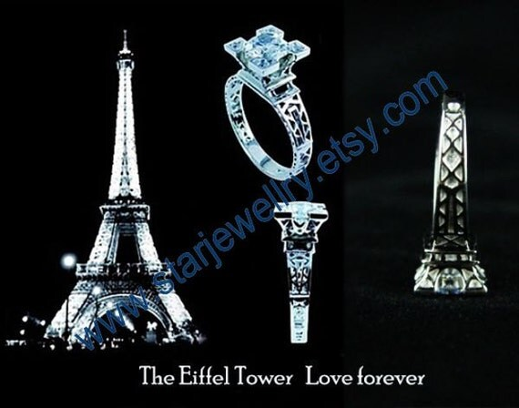 spice tower wedding ring