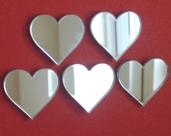 Heart Mirrors - Small Packs several sizes available