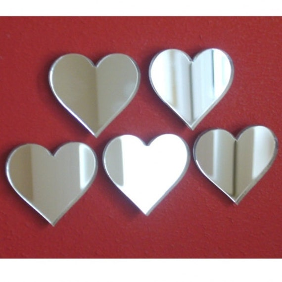 heart mirrors small packs several sizes available