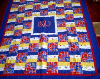 Twin (almost) size KU quilt