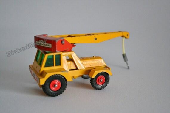 matchbox lesney king size jumbo crane k 14 by diecastmungo on etsy. Black Bedroom Furniture Sets. Home Design Ideas