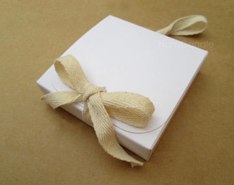 Bulk White Box, White Gift Box, Wedding Favor Box - Set of 100