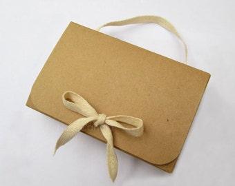 Bulk Brown Kraft Box, Gift Box Set of 50