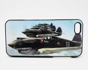 Iphone  6 iphone 5 iphone 4 iphone 4S  FIghter Jets World War 2  soldiers Samsung Ipod mobile cover cell  Phone case cover black planes
