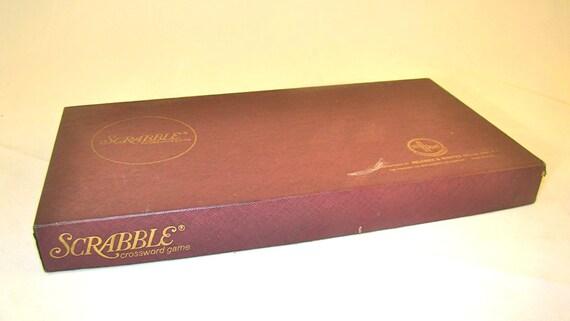 Vintage Scrabble Game 1948